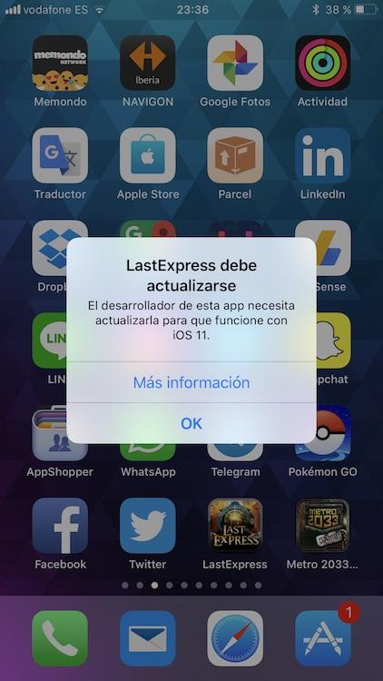 32 bits iOS 11