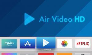 Air Video HD Apple TV 1