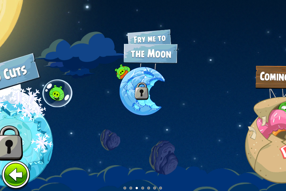Iphone Active: Angry Birds Space is updated with 10 new levels