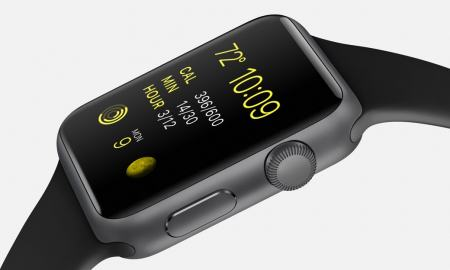 Apple Watch Sport negro