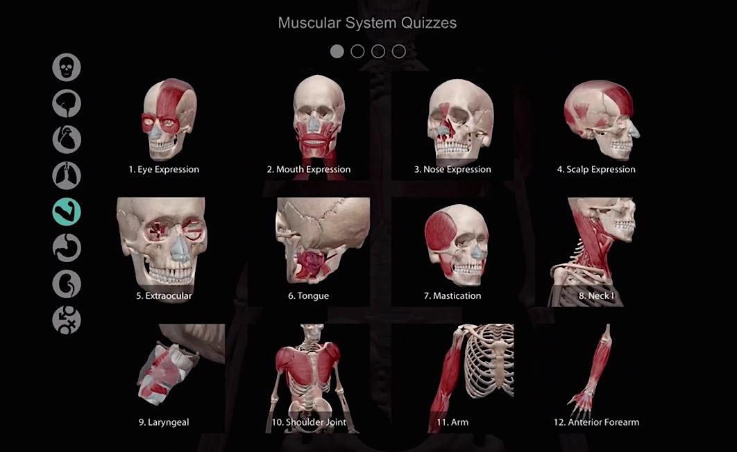 Atlas de anatomía humana para iOS