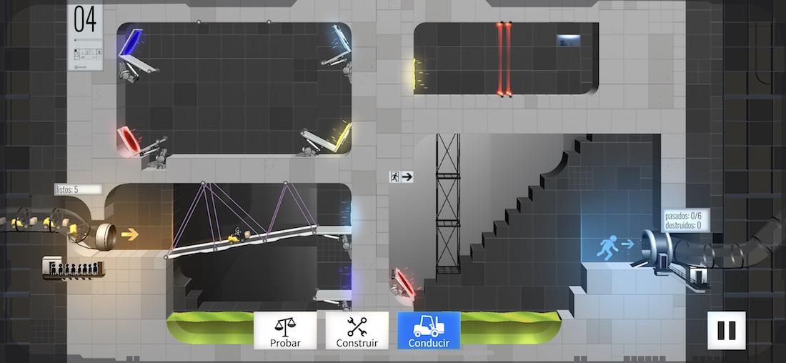 Bridge Constructor Portal o Sonic Runners Adventure entre las novedades de hoy