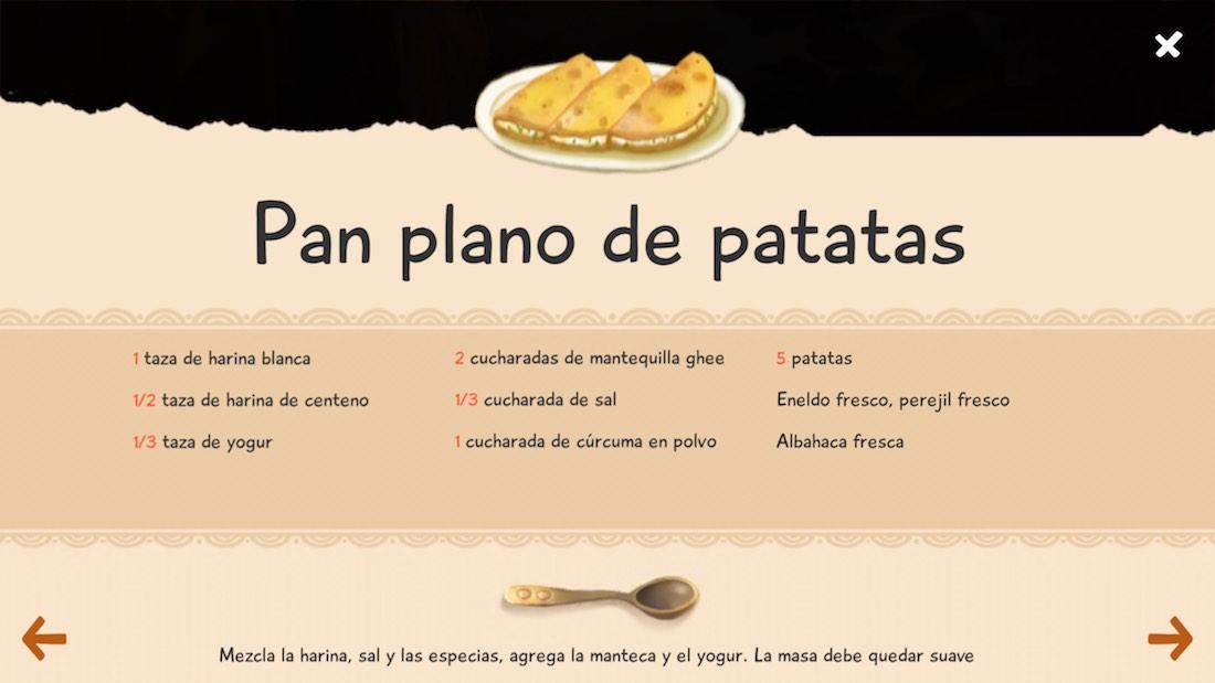 Caperucita verde iOS recetas