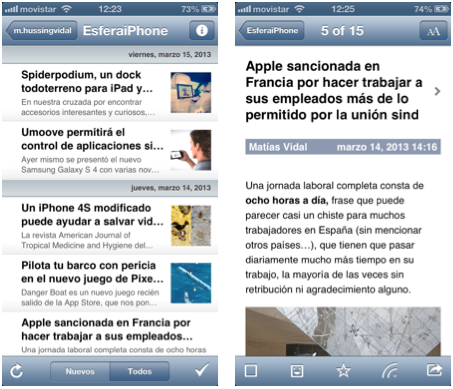 Mobile RSS Reader PRO