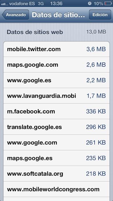 Safari 3 Data