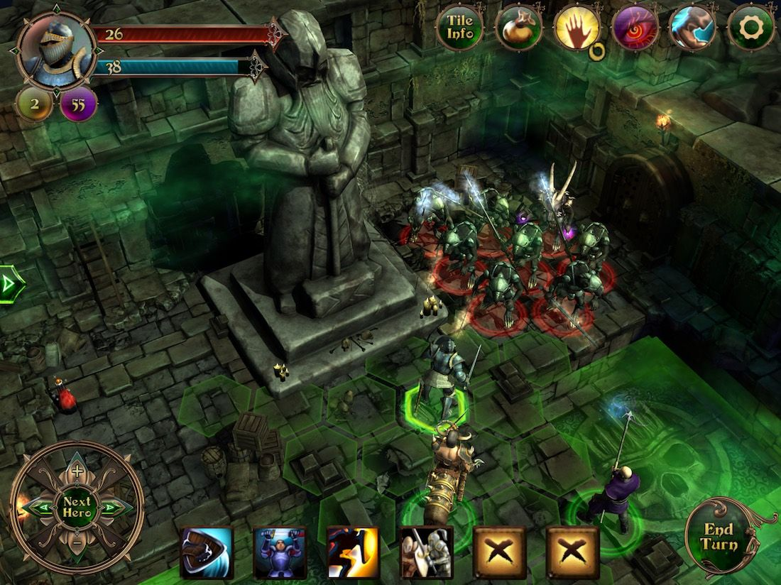 Demon?s Rise, un RPG por turnos para iPhone y iPad rebajado a 1,09? por tiempo limitado