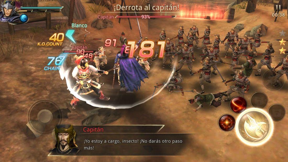 Dynasty Warriors: Unleashed para iOS℗ - Juegos nuevos App Store