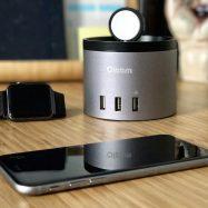 Base de carga para iPhone y Apple Watch Oittm