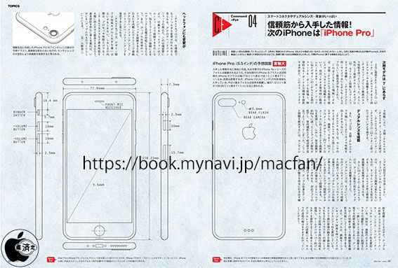 Aparecen los supuestos esquemas del iPhone 7 Pro
