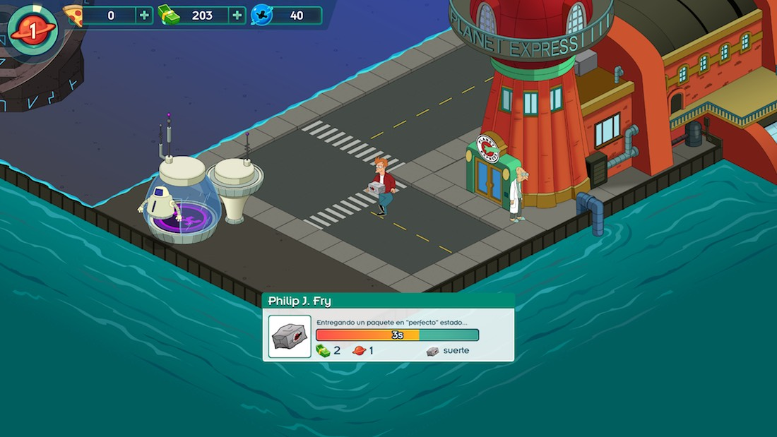 Futurama: Worlds of Tomorrow iOS