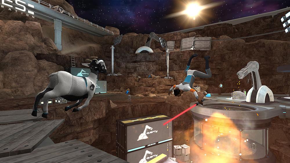 Warp Shift, Lifeline: Whiteout, Goat Simulator Waste of Space o Hatoful Boyfriend entre las novedades de la semana