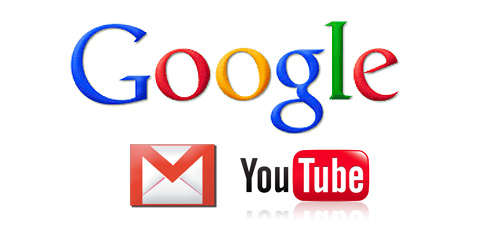 Google Gmail youTube
