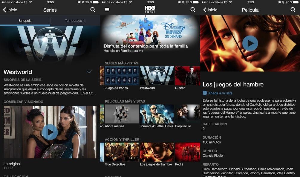 HBO España(País) Apps Store