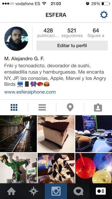 Instagram iOS 7 2
