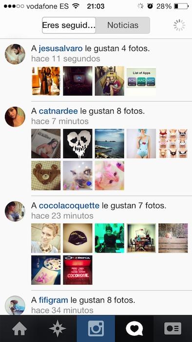 Instagram iOS 7 3