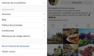 Instagram multicuenta