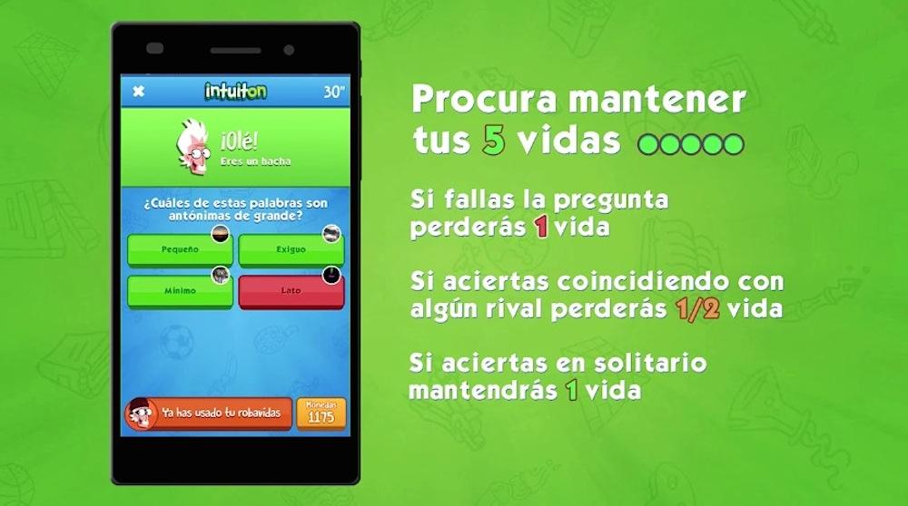 Sistema de puntos en Intuiton para iOS