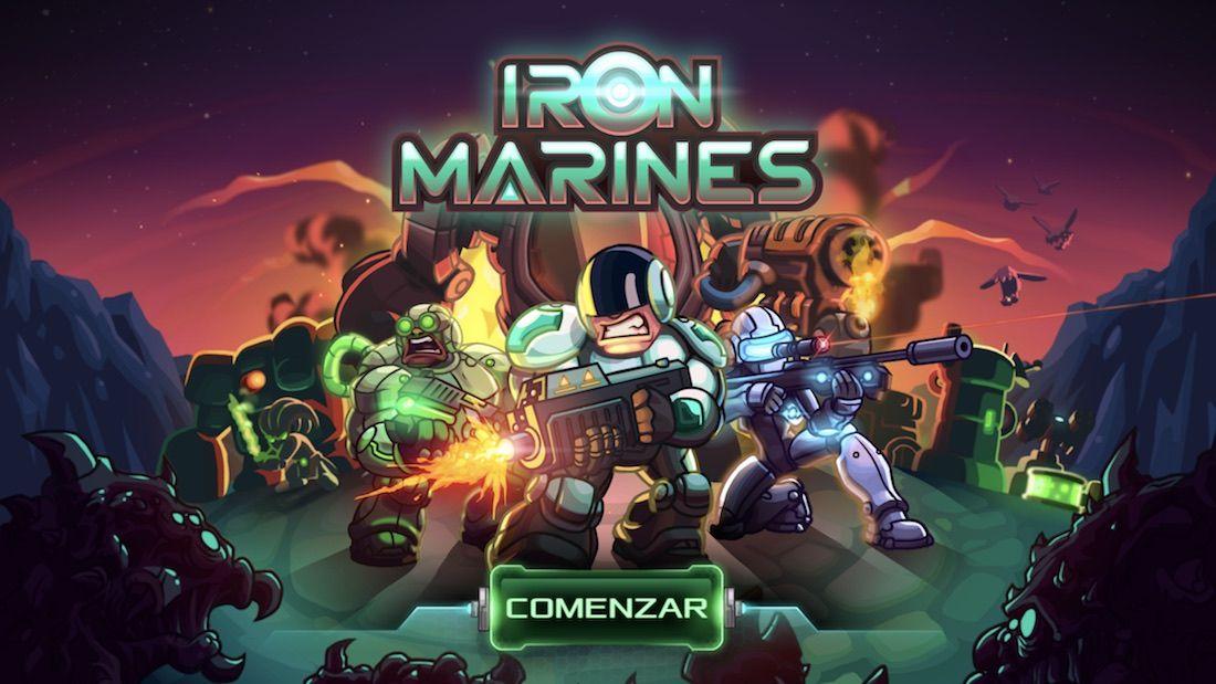 Iron Marines - iPhone
