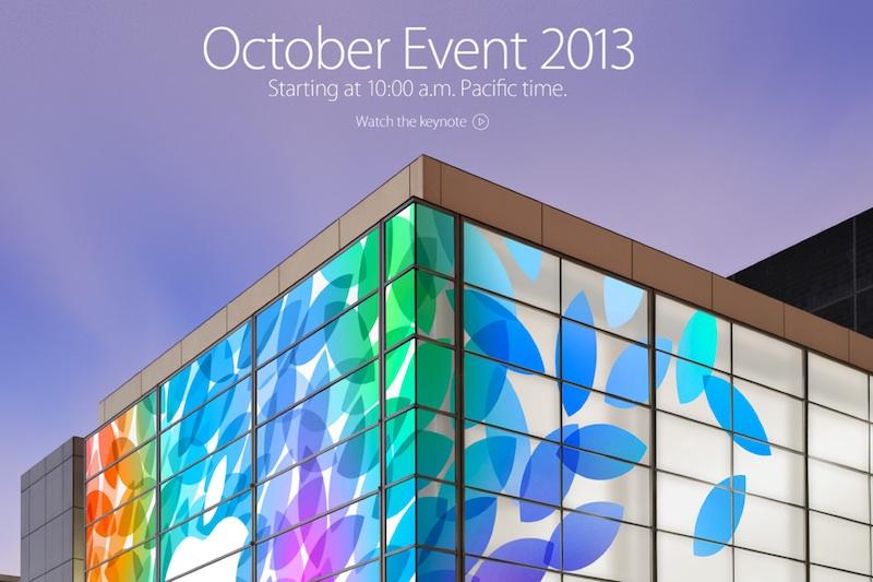 KeyNote Apple Octubre 2013