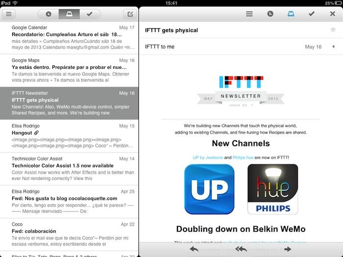 Mailbox iPad 1