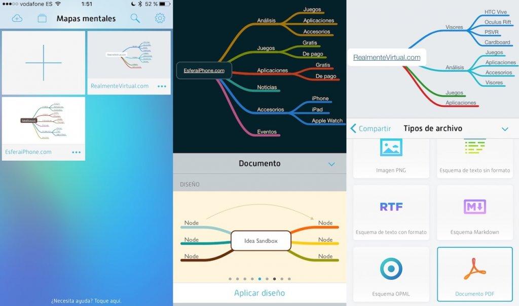 La app de productividad MindNode, gratis por tiempo limitado (9,99? > 0?)