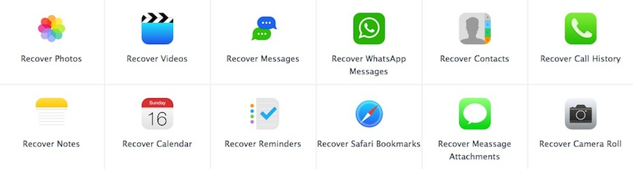 MobiSaver iPhone Data Recovery 2