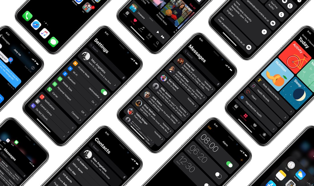 Dark mode iOS - Modo Oscuro iOS