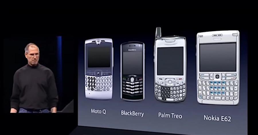 No SmartPhones - Keynote - Steve Jobs