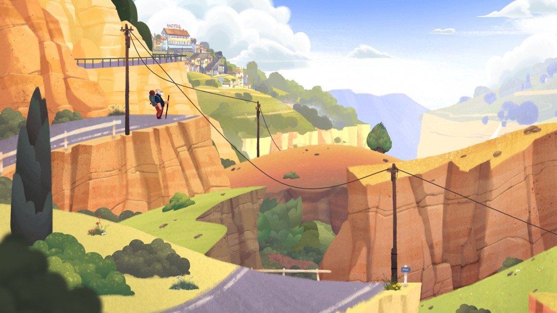 Old Man's Journey - aventura emotiva para iOS