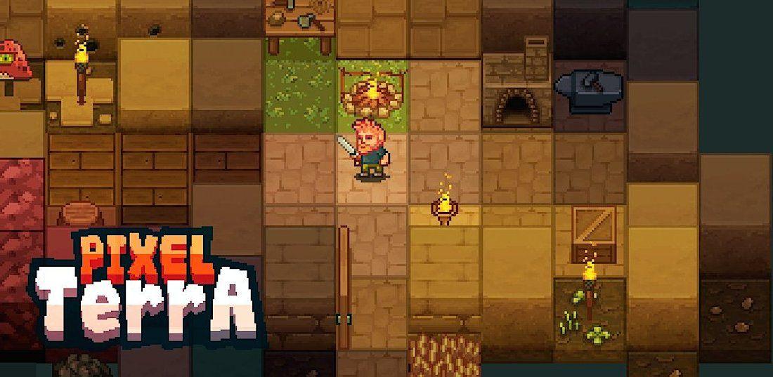 PixelTerra - Juego de supervivencia estilo Minecraft en 2D