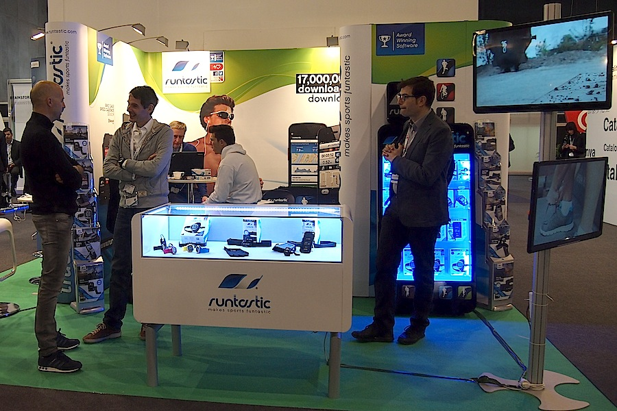 Stand runtastic MWC 2013