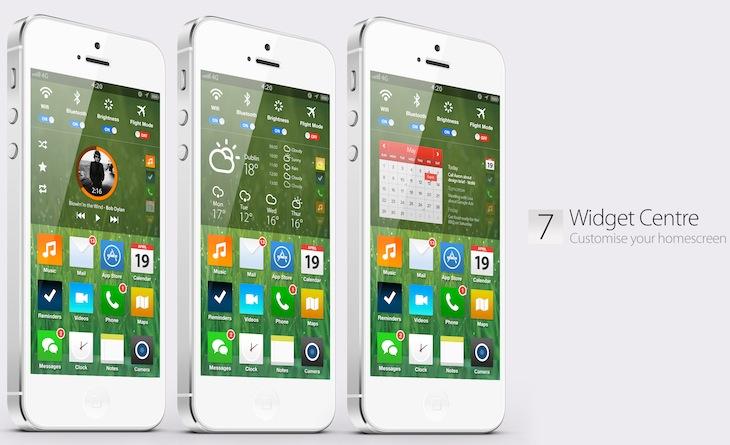 Concepto Joyce iOS 7 2