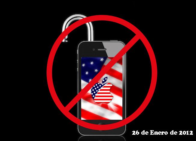 Prohibido desbloquear en Estados Unidos