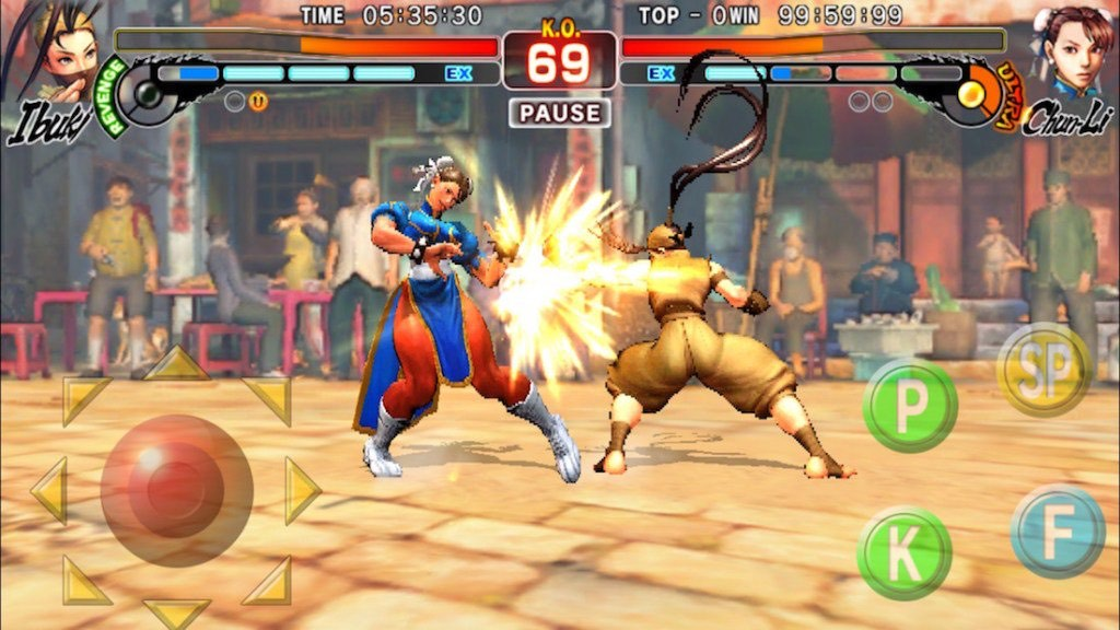 Street Fighter IV Champion Edition iOS