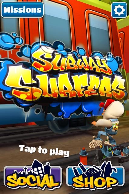Subway Surfers es el juego al que estamos viciados acualmente