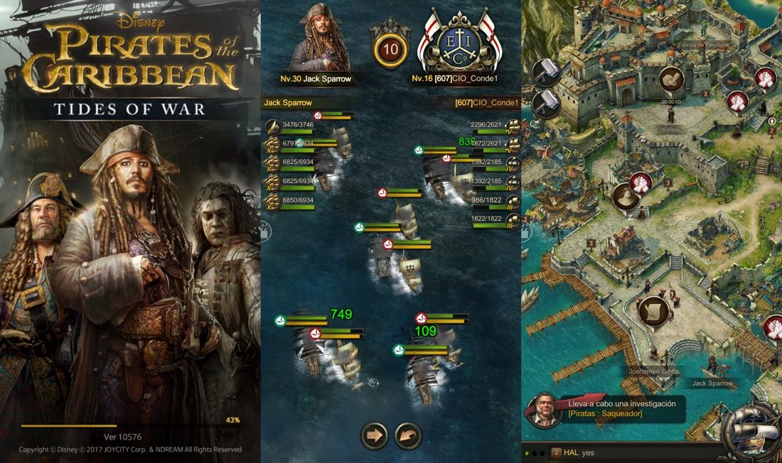 Pirates Of The Caribbean : Tides of War - Juegos nuevos App Store