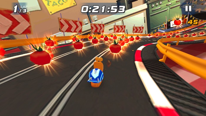 Turbo Racing League 3 Turbo Racing League: caracoles, carreras clandestinas y tomates