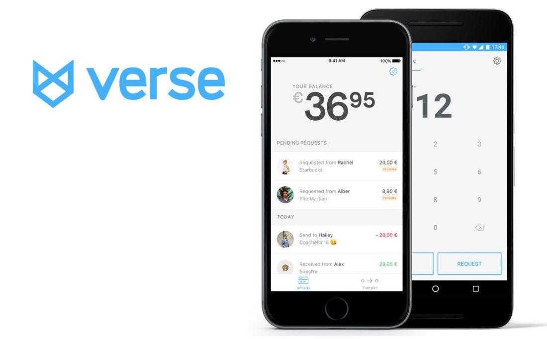Verse - App para recibir y enviar dinero entre particulares