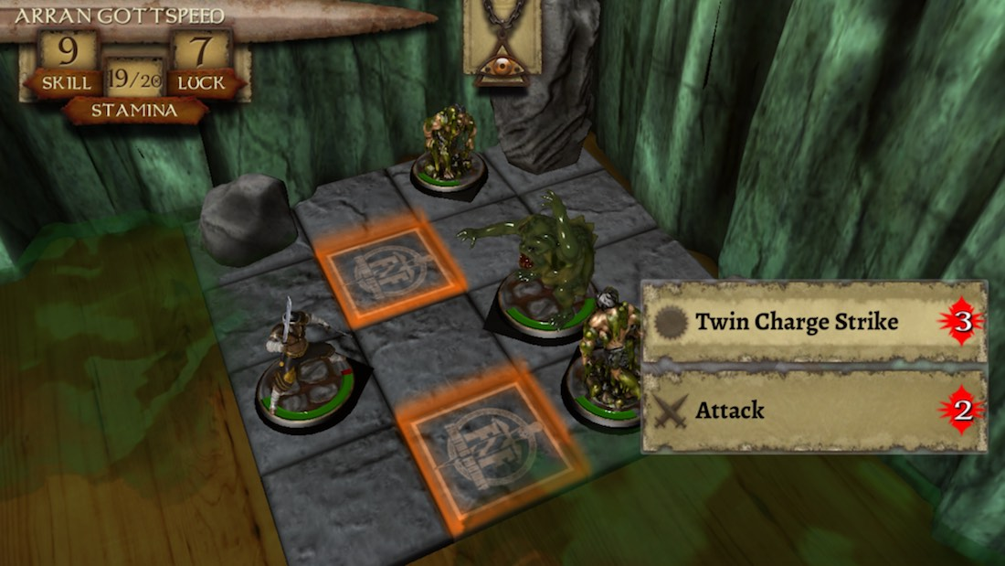 The Warlock of Firetop Mountain - RPG para iOS