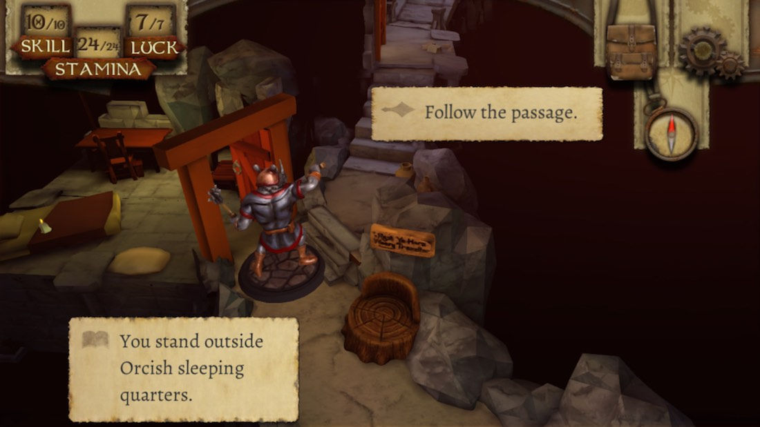 The Warlock of Firetop Mountain iOS