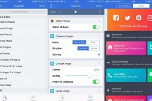 Workflow para iOS - Automatizar tareas en iPhone y iPad