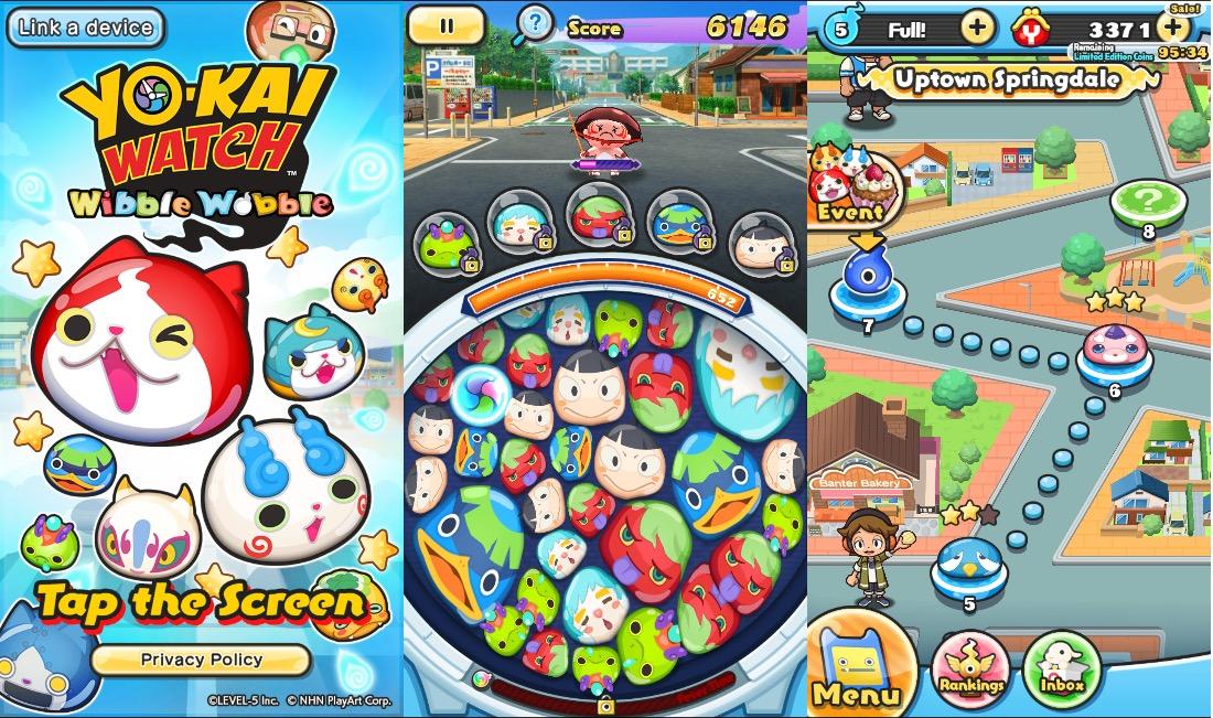 Yo-Kai Watch Wibble Wobble para iOS