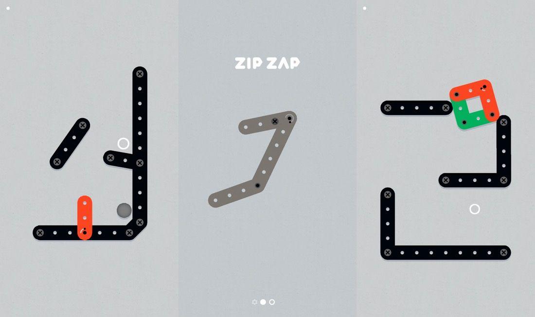 Zip-Zap, juego de puzzles gratis(free) en la App Store