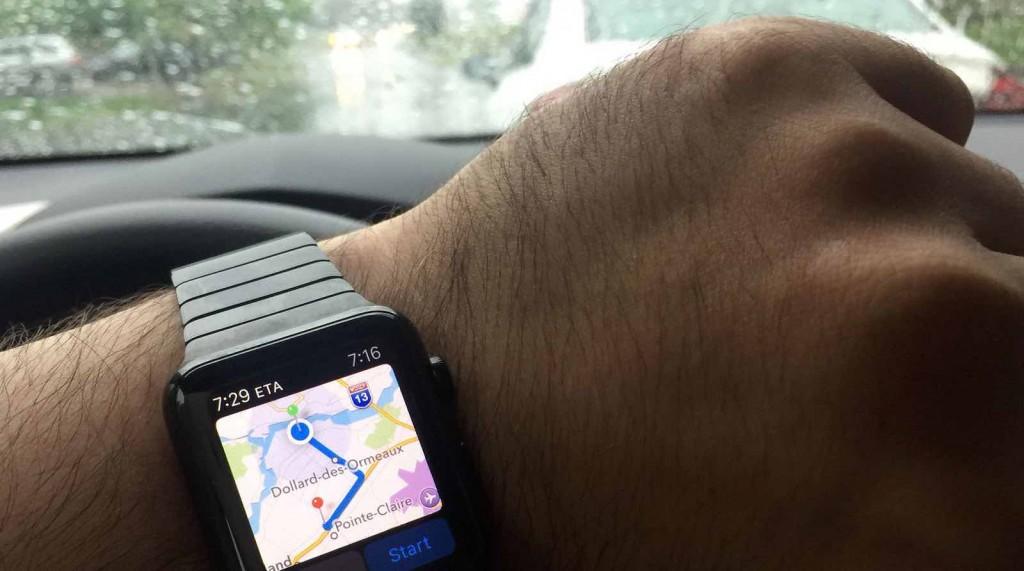 multa de tráfico Apple Watch