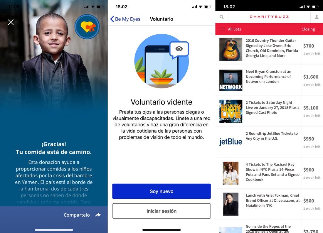 apps ayuda necesitados