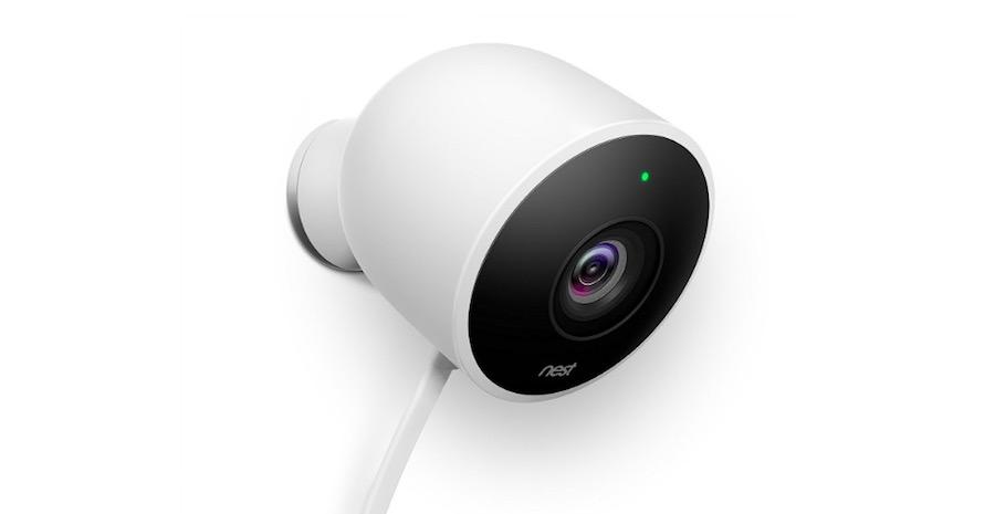cámara exterior Nest
