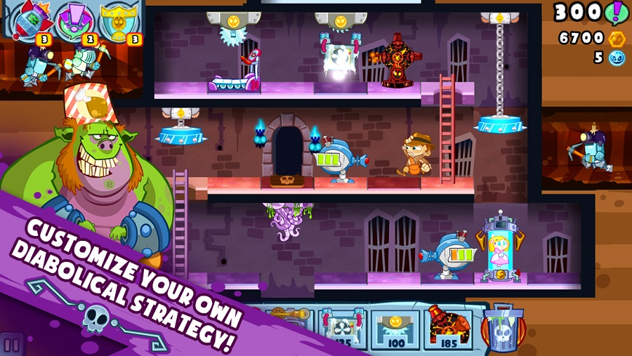 ipad Castle Doombad, un Tower Defense diferente para iPhone y iPad