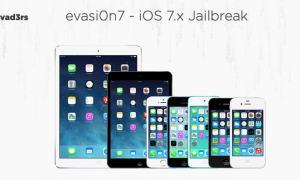 evasi0n7 - iOS 7.x Jailbreak