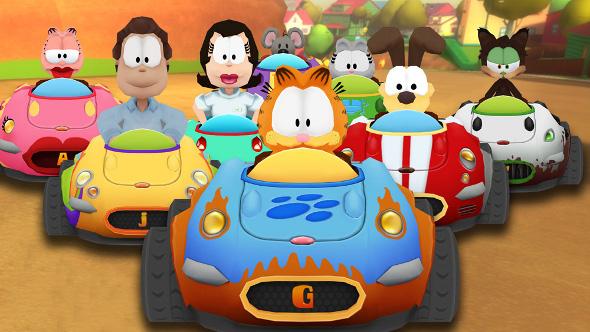 Anuman Interactive anuncia Garfield Kart un nuevo juego de