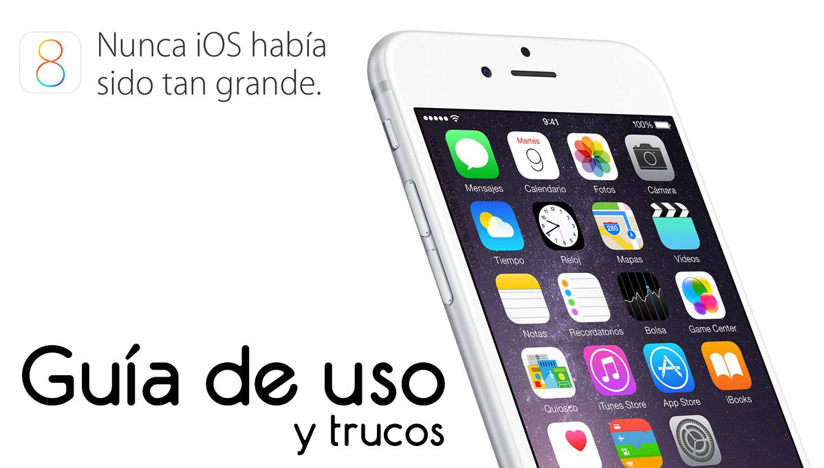 Guía iOS 8